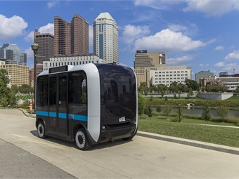 Local Motors' self-driving, cognitive, 3D-printed shuttle will serve a military base near Washington, D.C.
