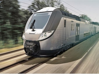Specially designed for long intercity journeys, the OMNEO Premium can travel at up to 124 mph and offers a high level of onboard comfort to meet the demands of long distance travelers. Bombardier