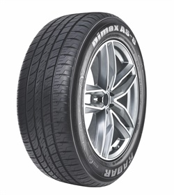 The Dimax AS 8 is backed by a 50,000 to 60,000 mile warranty depending on the size.