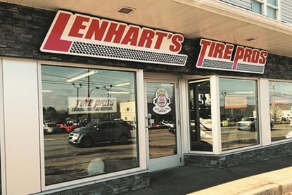 Sales have doubled at Lenhart's Service Center Tire Pros since the business opted to close on Saturdays in 2000.
