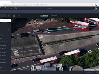 With Optibus' new Route Planning module, users can view and modify routes via a modern and interactive user interface that uses the most up-to-date maps and satellite views. Screenshot: Optibus
