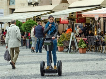 "Micromobility devices that transport one or two people (e.g. electric scooters, motorized skateboards, unicycles etc.) will gain traction in big urban centers become a preferable solution for ""the first and last mile"" issue."