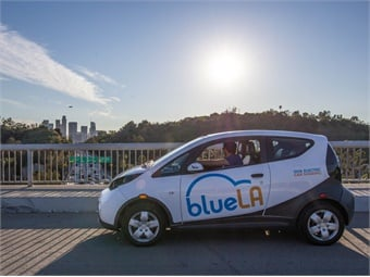 BlueLA has set competitive rates to ensure the service is accessible to all Angelenos, including lower-income families. Photos courtesy BlueLA
