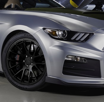 Continental ExtremeContact Sport tires are an upgrade on Stage 1 Roush Mustangs, and are standard equipment on every Stage 2.