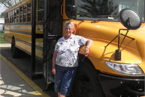 Joyce Bernard has been a bus driver for Serena (Ill.) Community Unit District #2 since 1967.