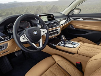 """Chauffuers will also be dazzled by the """"driver-centric"""" front seat."""