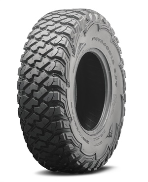 The Patagonia SXT is available in the following sizes: 28x10.00R14, 30x10.00R14, 32x10.00R14, 30x10.00R15, 32x10.00R15, 33x10.00R15 and 34x10.00R15.