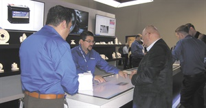ACDelco used augmented reality technology to create highly interactive displays in its AAPEX booth.