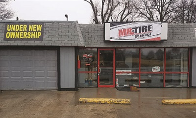 """After another tire dealer closed in Baldwin City, Kan., Bill Leach bought the building and opened his second location, Mr. Tire of Baldwin. Leach plans to open three or four more locations in eastern Kansas. """"At this point anything else I would build would be a Mr. Tire."""""""