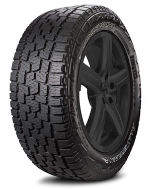 The Pirelli Scorpion All Terrain Plus offers minimal noise and on-road driving comfort without sacrificing solid off-road performance.
