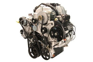 Powertrain Integration's 8.0L V8 propane autogas engine, dubbed the PIthon, is the engine platform for Thomas Built Buses' new propane-powered Saf-T-Liner C2.