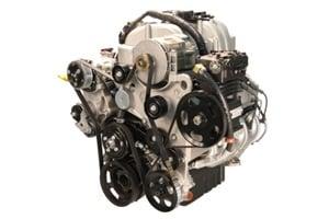 Powertrain Integration's 8.0L V8 propane autogas engine, dubbed the PIthon, is the engine platform for Thomas Built Buses' new propane-powered Saf-T-Liner C2.
