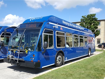 Pace's CNG buses are anticipated to save $1.5 million per year in fuel and maintenance costs versus their diesel predecessors.