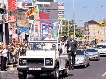 Papal visit to Sri Lanka January 2015. Photo: shehan peruma/Flickr