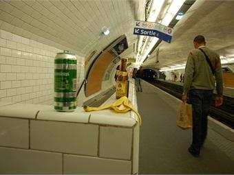 Paris Metro. Photo: eye/see via Flickr.