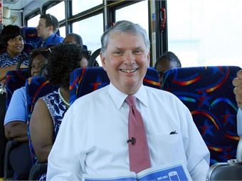 Ballard retired in April 2019 as CEO from Trinity Metro.Trinity Metro