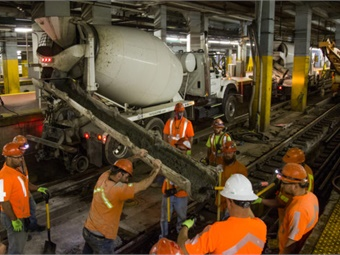 The Renewal work is designed to address the reliability issues caused by the significant growth in train volumes at New York Penn Station coupled with its aging infrastructure.