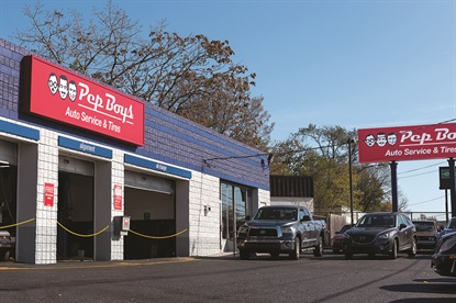 Among Pep Boys' recent new store openings is the move to a larger store in Lodi, N.J.