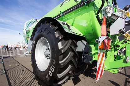 Mitas, which was acquired by the Trelleborg Group in June 2016, is expanding its lineup of CHO tires.