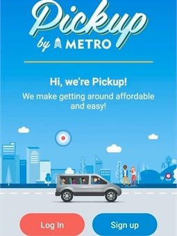 With the Pickup appriders will be able to hail a shared on-demand shuttle directly from their smartphone.