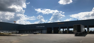 The Piedmont Truck Tires facility in Murfreesboro, Tenn., sells tires for trucks, earthmovers, industrial vehicles, farm equipment, and lawn and garden equipment.