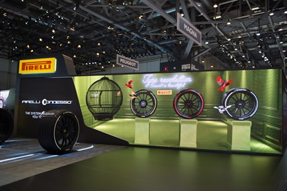 Pirelli is rolling out an interactive platform via a sensor in two of its tire designs that provides drivers constant information on how the tires are wearing.