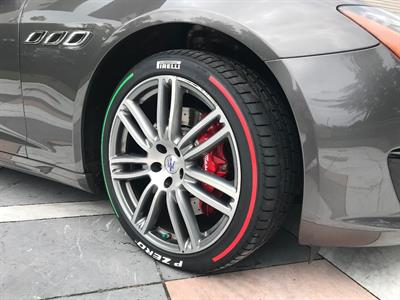 Pirelli's tri-color tires are made in the company's plant in Bollate, which is outside of Milan.