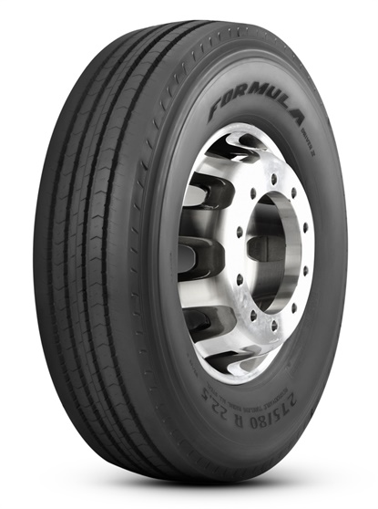 The Formula brand of commercial tires debuts with the Driver II tire, which the company says offers drivers mileage, safety and durability.