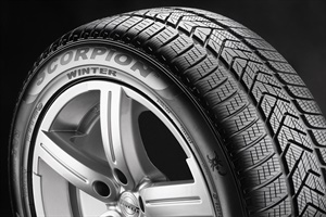 The Pirelli Scorpion Winter is designed for SUVs and CUVs with a focus on stability and control in snow, ice, wet and dry conditions. Pirelli says it combines excellent performance, braking and handling with a low-noise ride.