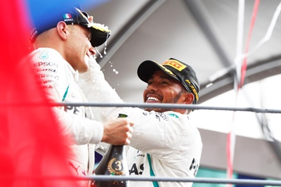 """Lewis Hamilton managed his tires perfectly,"" said Mario Isola, Pirelli's head of car racing."