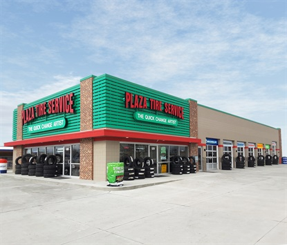 """Plaza Tire Service markets itself as the """"Quick Change Artist,"""" and works to make the tire-buying experience hassle free for consumers."""