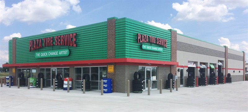 Plaza Tire Service has opened its second store in Springfield, Mo., which brings the company to 62 stores in four states.