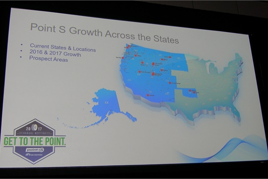 The Point S network will expand eastward with the addition of Nussbaum Distributing in Memphis.
