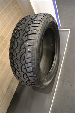 The first Point S-branded tire is available as both a studded and non-studded winter tire
