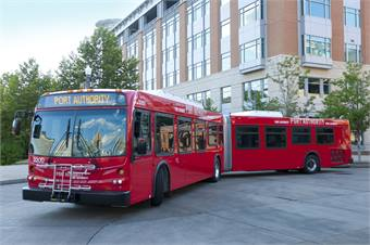 Pittsburgh port authority honored for brt system bus metro magazine - Pittsburgh port authority ...