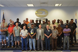 Blue Bird honored 66 of its employees who have served 35 years or more at the company in a recent ceremony.