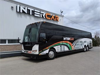 Intercar plans to utilize the new H3-45 coaches predominately for scheduled charter services into the U.S. Prevost