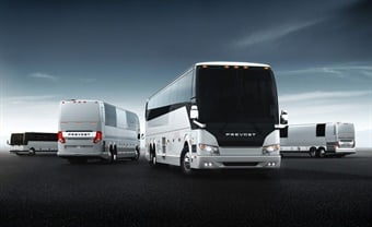 Prevost is the sole sponsor for the ABA Driver Training program, which was developed by safety experts from industry-leading motorcoach companies and manufacturers. Photo: Prevost