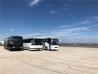 Icomera and Prevost's entertainment options have been simply packaged and built within a transparent, all-inclusive pricing model. Prevost