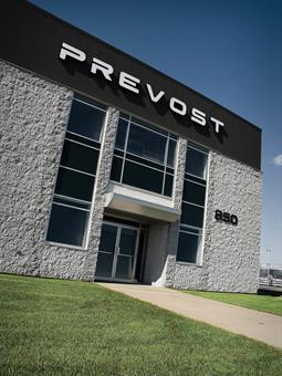 The Prevost Service Network now features 11 Prevost Parts & Service® Centers, 54 mobile service vans, and almost 200 certified service providers.