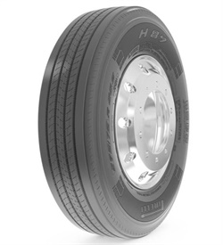 The Prometeon H89 series will include this all position tire, plus options for steer, drive and trailer axles.