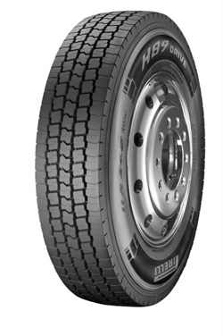 Prometeon is unveiling its lineup of Pirelli-branded H89 tires, including this drive tire.