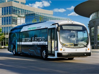 Proterra, provider of zero-emission, battery-electric buses, today announced that it will begin supplying buses to campus locations nationwide. Photo: Proterra