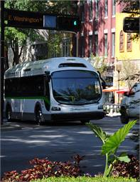 The City of Seneca is switching its three-vehicle fleet to four 35-foot EcoRide BE35 all-electric buses, to be operated by Catbus.