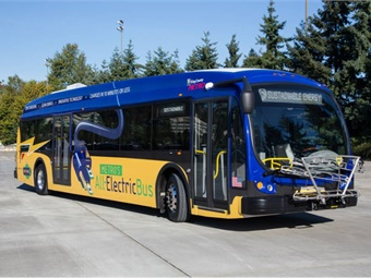 Proterra bus photo via King County Metro