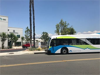 Proterra's facility is also in close proximity to its first customer, Foothill Transit.