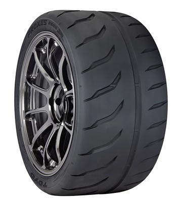 Toyo says the new Proxes R888R quickly reaches an ideal operating temperature due to its high grip race compound.