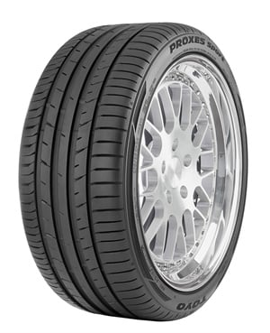 The new Proxes Sport has a 25,000-mile tread wear warranty and is backed by the Toyo Tires 500 Mile Trial Offer.