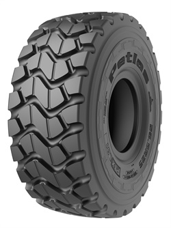 Ptx L31 (E3-L3) and Ptx L41 (L3) all-steel radial tires are designed for loaders and articulated trucks.