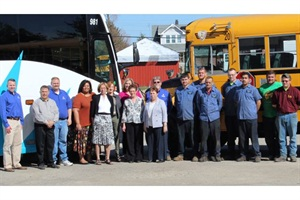 Under New Owner Aaron Haid Far Left Klug Bus Service Is Now Queen
